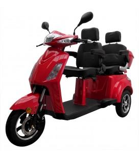 "Elektromobil ""VITA CARE 2000"", Seitenansicht, rot"