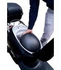 E-Scooter One, schwarz, Helmfach