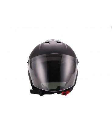 Jethelm, Motorradhelm, Rollerhelm, Helm für Elektroroller und E Scooter, Front