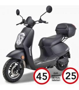 E-Moped ELETTRICO LI, Lithium-Akku, 45km/h, 25 km/h, Vorführer