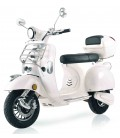 E-Scooter Classico, weiß, Front
