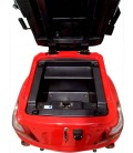Seniorenmobil  VITA CARE 1000, rot, Kofferraum