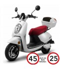 E-Moped ELETTRICO LI, Lithium, 45km/h, 25 km/h