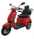 E-Roller VITA CARE 1000 LI, 25 km/h, Lithium-Akku, 27 km, rot, Retoure 31