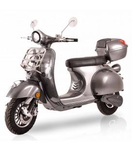 E-Scooter Classico, grau, Front 1