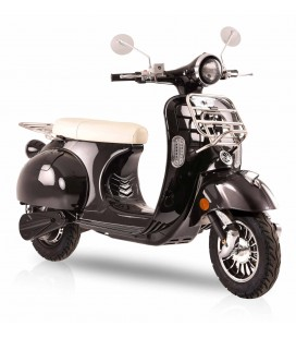 E-Scooter Classico, schwarz, Front 1