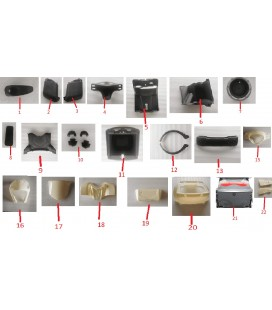 Elektroroller Ersatzteile, VC 4000, Kunststoff 1