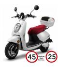 E-Moped ELETTRICO, Blei-Gel, 45km/h, 25 km/h