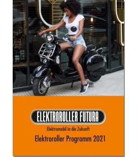 Broschüre Elektroroller Futura