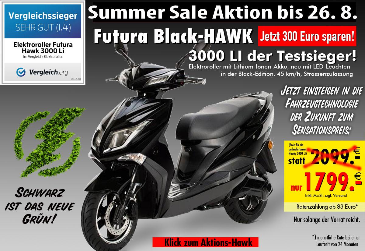 Summer Sale Black Hawk 3000 LI