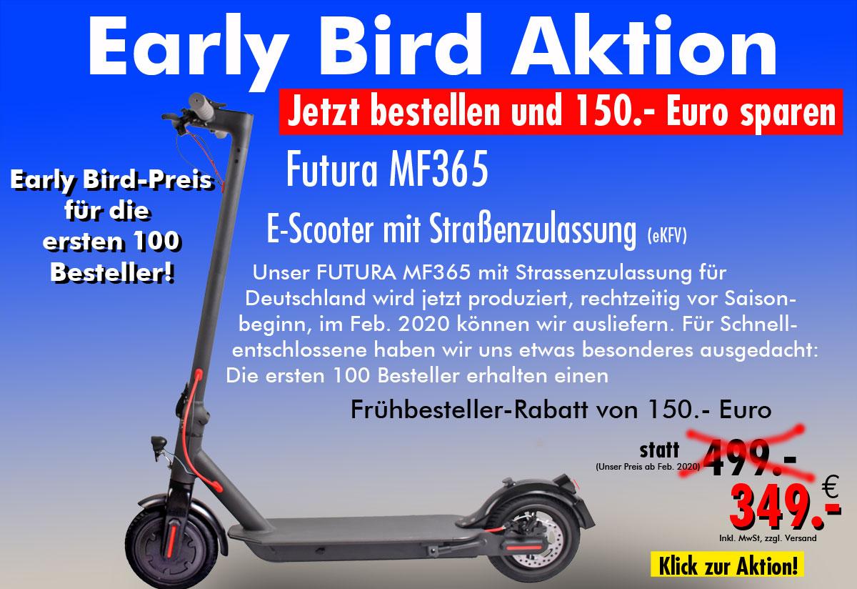 Early Bird Aktio Futura MF365