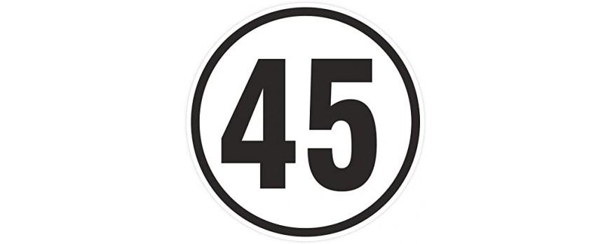 Warum fahren Elektroroller 45 km/h und nicht 50 km/ ?
